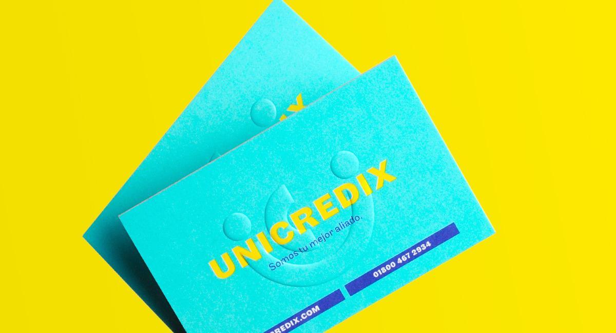 金融行业Unicredix公司标志设计