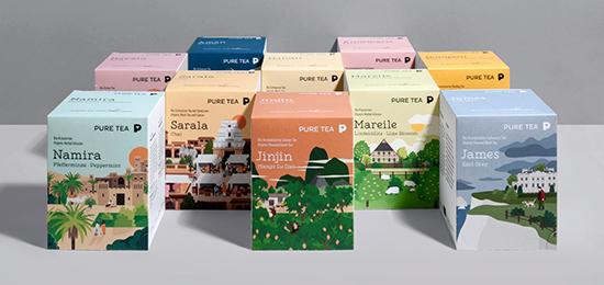 深圳VI设计公司,茶叶品牌,包装设计