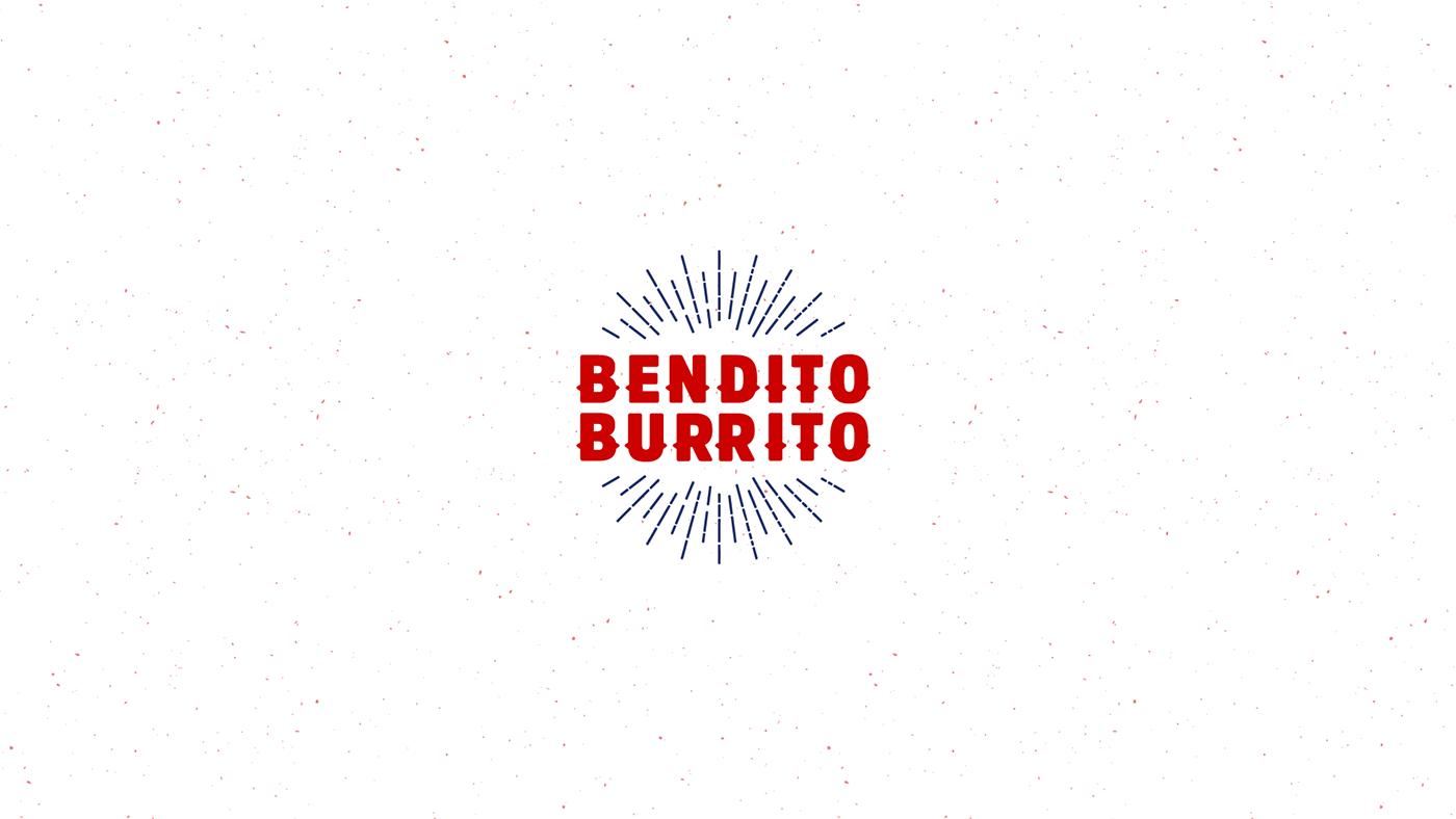 Bendito Burrito墨西哥餐厅品牌形象设计