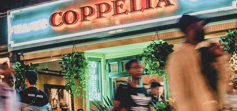 Coppelia NYC餐饮品牌VI设计