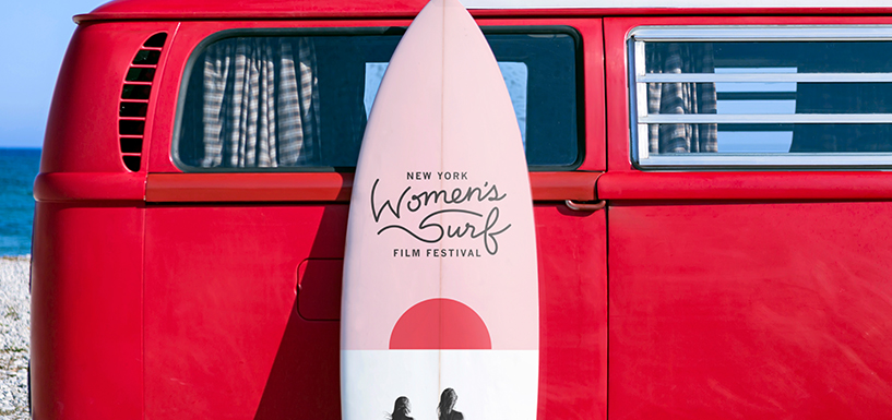 纽约妇女冲浪电影节标志设计