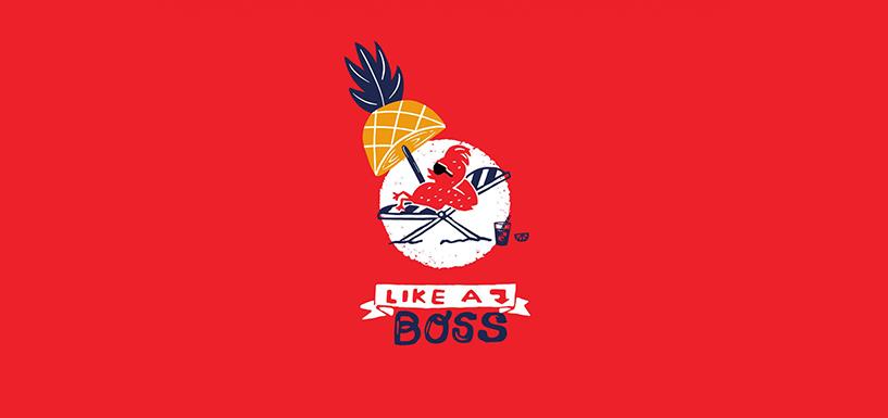 肌肉餐饮品牌logo设计