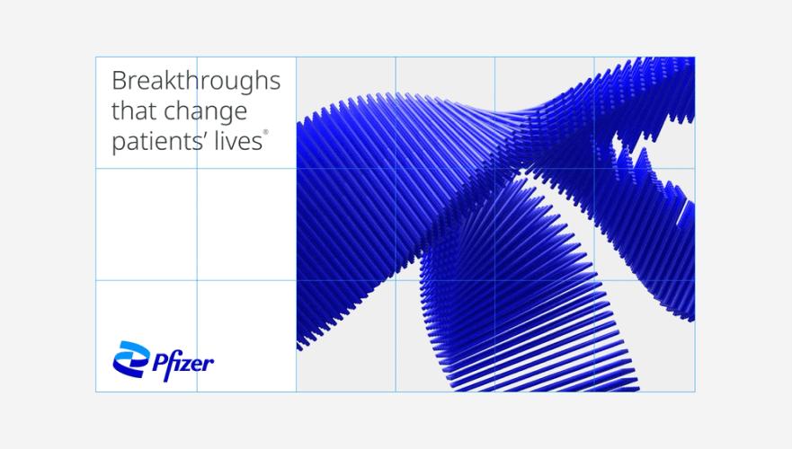 品牌设计动态:辉瑞制药启用新的品牌视觉识别