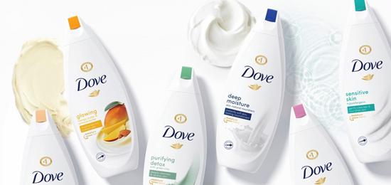 日化品牌设计、包装设计全新升级-DOVE